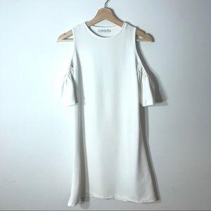 Zara Open Shoulder Dress